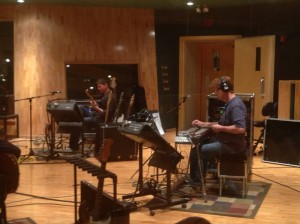 NashVille Studio Session  Mike Johnson and Etan Pilzer
