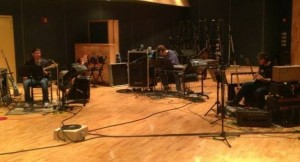 Recording the new CD  The Tracking Room Nashville